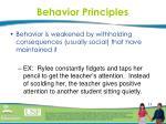 behavior principles3