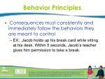 behavior principles4