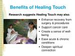 benefits of healing touch9