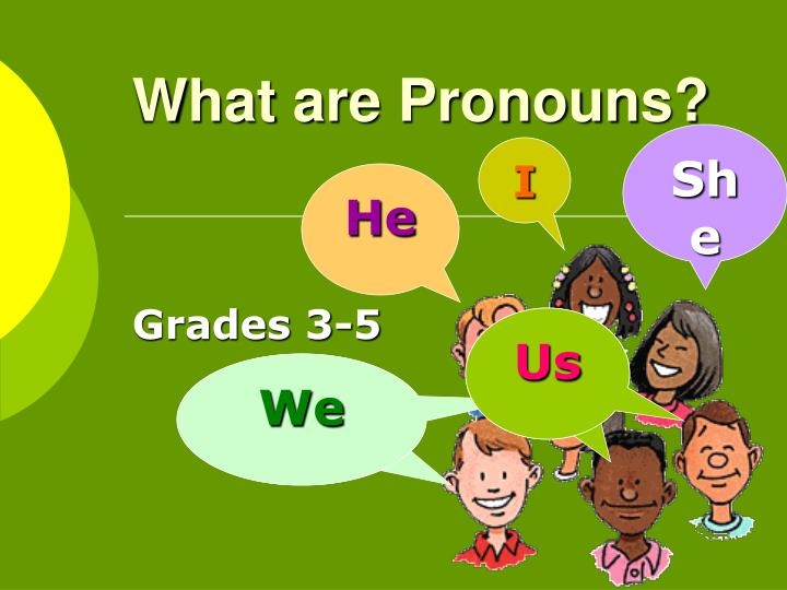 what are pronouns n.