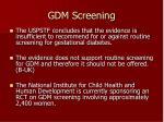 gdm screening1