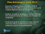 plan estrat gico 2008 2012