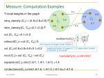 measure computation examples