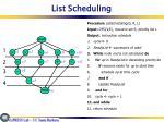 list scheduling1