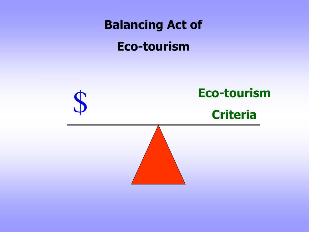 Balancing Act of