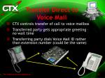 transfer direct to voice mail