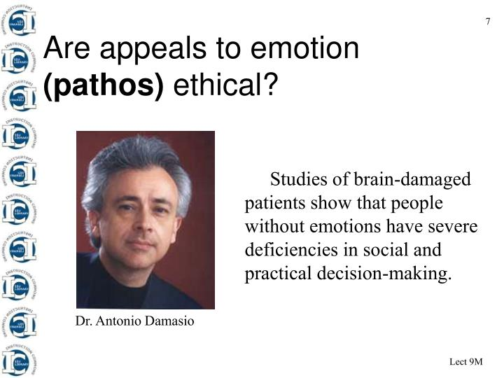 Are appeals to emotion