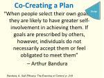 co creating a plan