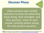 discover phase