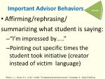important advisor behaviors2