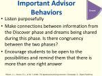 important advisor behaviors3