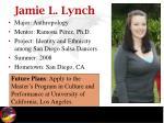 jamie l lynch