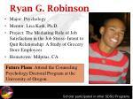 ryan g robinson