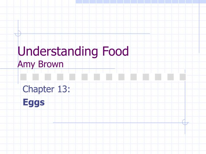 understanding food amy brown n.