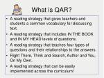 what is qar