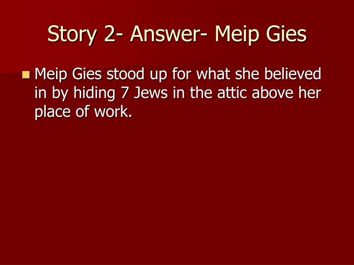Story 2- Answer- Meip Gies