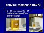 antiviral compound db772