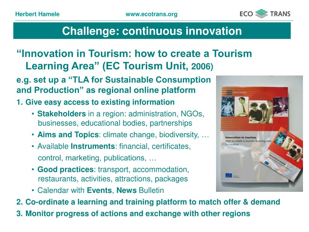 Challenge: continuous innovation