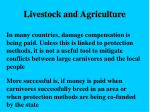 livestock and agriculture19
