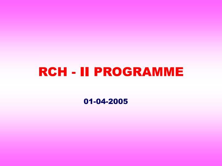 RCH -