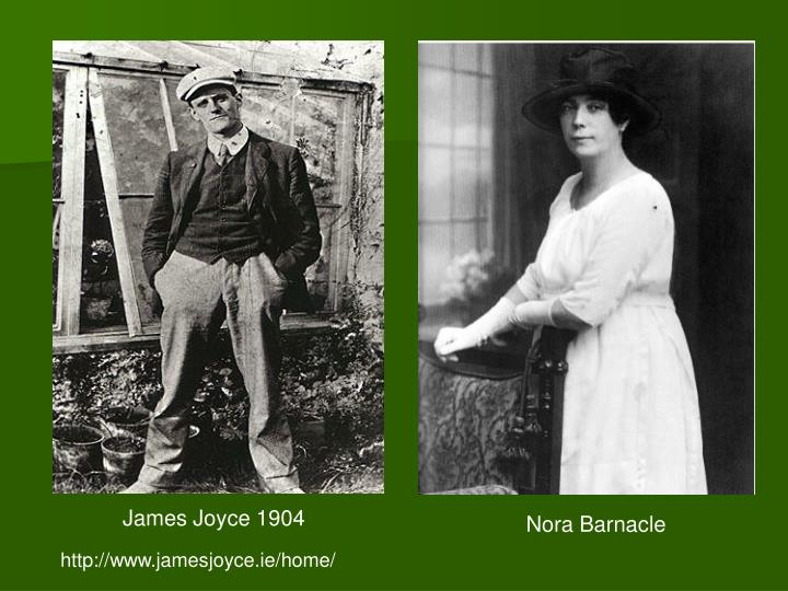 James Joyce 1904