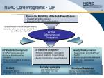 nerc core programs cip