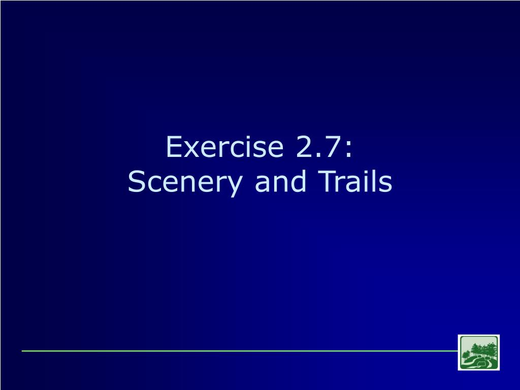 Exercise 2.7: