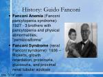 history guido fanconi