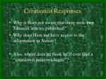 creationist responses1