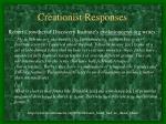 creationist responses2