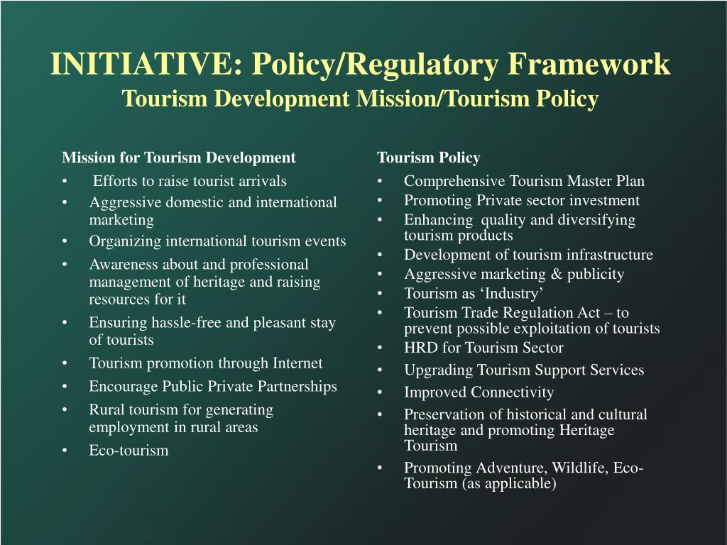 Mission for Tourism Development