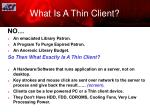 what is a thin client