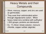 heavy metals and their compounds