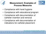 measurement examples of process measures