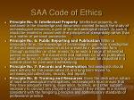 saa code of ethics1
