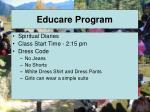 educare program