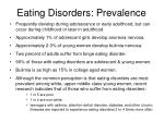 eating disorders prevalence