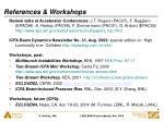 references workshops