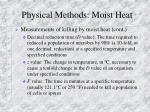 physical methods moist heat2