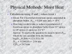 physical methods moist heat7