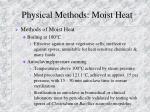 physical methods moist heat9