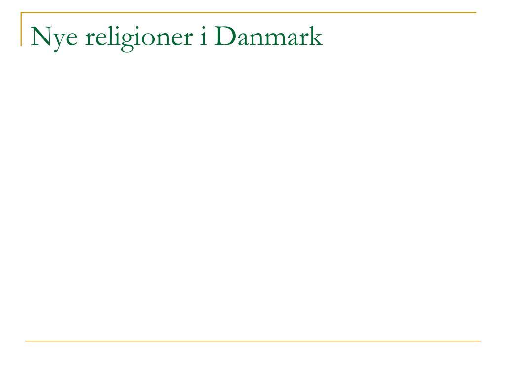 Nye religioner i Danmark