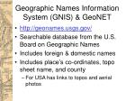 geographic names information system gnis geonet