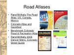 road atlases