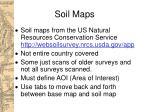 soil maps