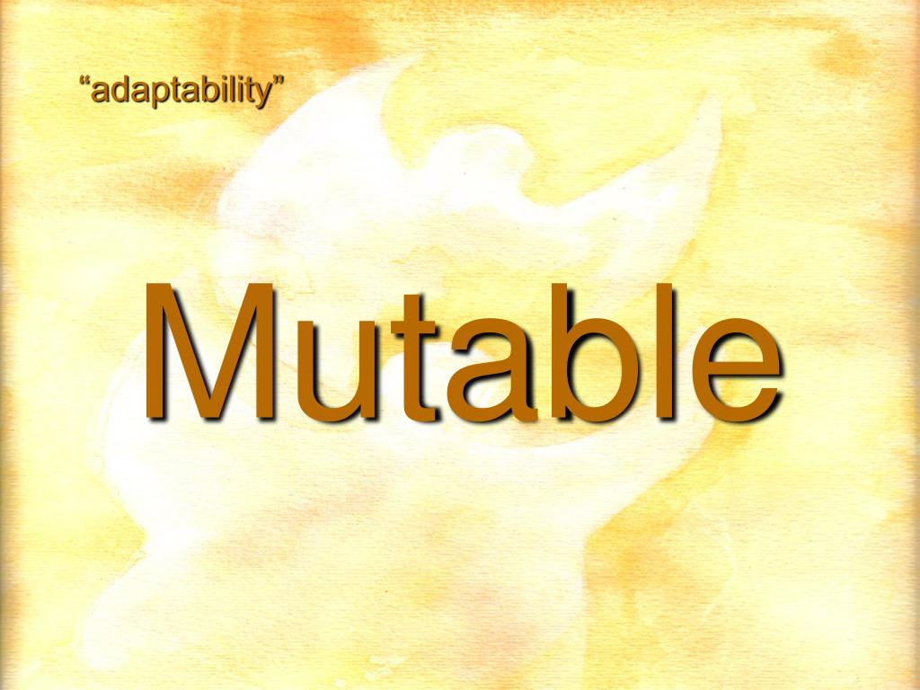 """adaptability"""