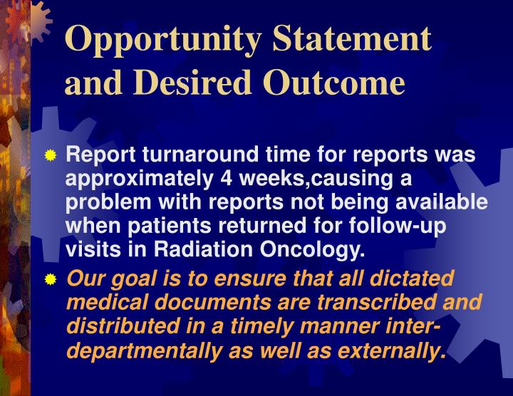 Ppt Radiation Oncology Report Turn Around Time