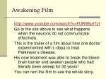 awakening film