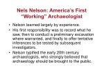 nels nelson america s first working archaeologist