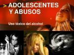 adolescentes y abusos